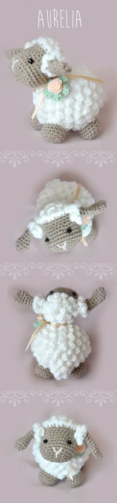 Crochet Lamb Free Pattern
