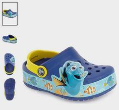 35fe391a68da8c CROCS™  Disney® Finding Dory  Light-Up Slip-On (Toddler