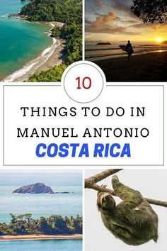 10 awesome things to do in Manuel Antonio, a gorgeous area in Costa Rica via @mytanfeet