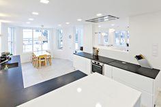 www.gloriakeittiot.fi selkeät linjat ja valoisa kokonaisuus keittiössä