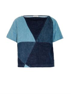 Rachel Comey Composite denim top
