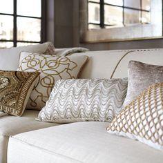 Beaded Wave Pillow