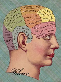 A Clean Mind...Phrenology Style