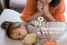 10 Pillow Talk questions to connect with you child's heart through conversation. Use them at bedtime, or during the day.
