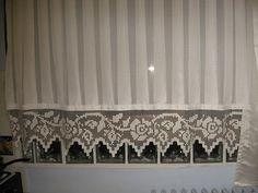 we can easily create crocheted curtain types that are easy to make, even beginners can learn by learning in a short time. For the kitchen window; French Door Curtains, Vintage Curtains, Crochet Curtains, Cafe Curtains, Valance Curtains, Yellow Kitchen Curtains, Types Of Curtains, Curtain Types, Ideas