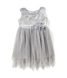 c258665e37c Popatu Little Girls 2-6 Lace Tulle Dress