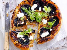 Upside Down Mushroom Tart recipe - Upside Down Mushroom Tart - Yahoo7 Food