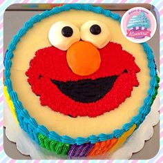 Elmo Sheet Decorative Cakes Part 5 Pinterest Elmo Cake And