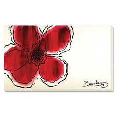 """This artwork would be a big bold pop of color—""""The Flower Without"""" by David Bromstad (HGTV star)❣ Grandin Road"""