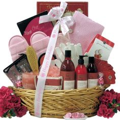 Great Arrivals Birthday Spa Gift Basket, Be Well « Delay Presents
