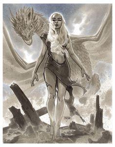 Daenerys Targaryen - FanExpo Canada 2016 Pre-Show Commission