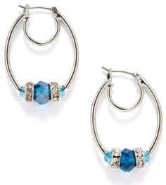 Nine West Blue Beaded Oval Hoop Earrings Nine West,http://www.amazon.com/dp/B00B6AA3BO/ref=cm_sw_r_pi_dp_mIQgsb1J3E1BYGW7