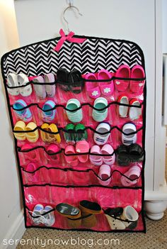 American Girl Doll clothes organization solution is a must to keep the chaos under control.