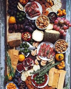 """Food & Wine on Instagram: """"The never-ending cheeseboard #howiholiday with @feedmedearly."""""""