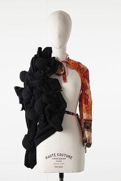 COMME DES GARCONS Long Sleeve Top F/W 2011, size S #CommedesGarons #Blouse