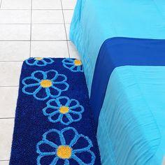 Fru Fru, Bargello, Doormat, Rug Hooking, Carpets, Beach Mat, Outdoor Blanket, Kids Rugs, Blue