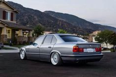 BMW E34 5 series grey