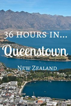 Queenstown is the adventure capital of New Zealand! There's so much to do including bungy jumping, wine tasting, and amazing landscapes. Capital Of New Zealand, Visit New Zealand, New Zealand Travel, Brisbane, Sydney, The Road, Auckland, Places To Travel, Places To Go