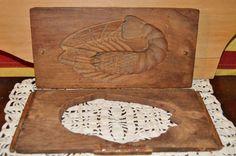 Antique JAPANESE MEIJI KASHIGATA LOBSTER Hand Carved Wood Rice & Sweet Cake…