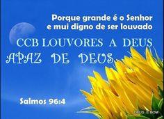 BAIXANDO TODOS HINOS :: CCB LOUVORES A DEUS