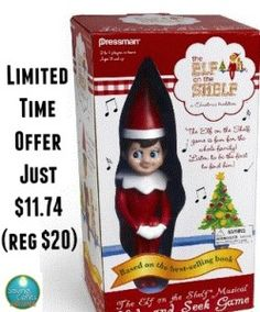 Elf on The Shelf Hide and Seek Game $11.74   41% off - #deals
