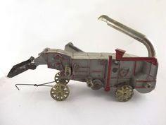 Antique Early 20c Arcade McCormick Deering Cast Iron Toy Farm Thresher Machine | eBay