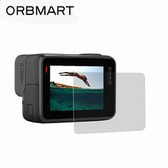 $2.25 (Buy here: alitems.com/... ) ORBMART Tempered Glass Screen Protector For Go Pro Gopro Hero 5 Sport Camera Accessory for just $2.25