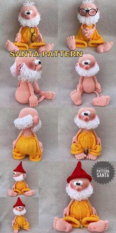 Amigurumi Cat Santa Bear And Turtle Crochet Patterns - Amigurumi Crochet Patterns