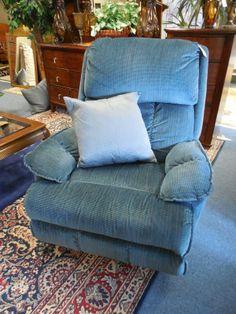 Blue Rocker/ Recliner $149.00. - Consign It! Consignment Furniture