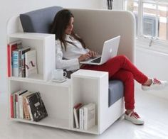 A Comfortable Library Reading Chair From Studio Tilt