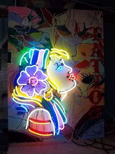 NEON *** Neon girl