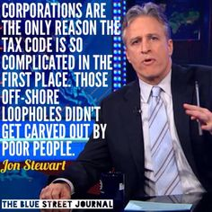 The Funniest Jon Stewart Quotes and Memes: Jon Stewart on the Tax Code