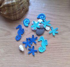 Sea inhabitants Crochet  Sealife  Crochet starfish / by ElenaGift