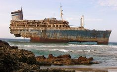 30Beautifully Decaying Shipwrecks That Call Our Oceans Their Grave