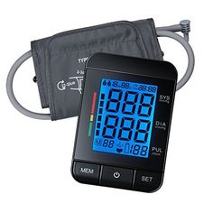 Blood Pressure Monitor Euph Digital Upper Arm BP Monitor Blood Pressure Cuff with Memory Storage and Automatically Show Diastolic Systolic Pulse on Backlit LCD Screen *** Read more  at the image link.