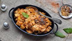 Pečená segedínská krkovička - Recept na nejen Paleo snadno Whole 30, Low Carb Keto, Lchf, Paleo, Curry, Yummy Food, Chicken, Ethnic Recipes, Dinner Ideas