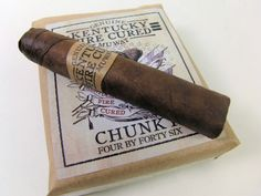 Drew Estate Kentucky Fire Cured Chunky Cigars -- find them at Churchill's!
