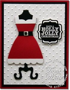 tags til christmas stampin up stamp set | ... Christmas Card | Stampin Up Demonstrator - Tami White - Stamp With