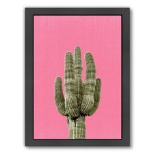 Cactus Framed Graphic Art