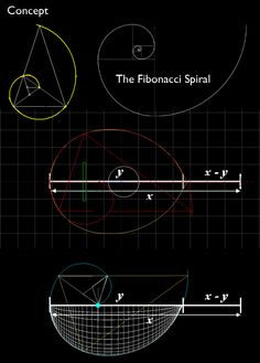 Fibonacci spiral - December 21, 2012 our universe will pause and return... A kind of rewind of sorts...