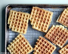 Perfect waffles - tips and super-easy recipe (no separating eggs!)!!