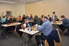 Open international d'échecs : du très haut niveau à l'Espace Copernic. -