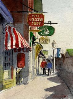Nita Leger Casey - Great watercolor journal art