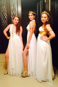 diosa griega costume