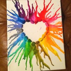 better view, my crayon melt teacher present: teachers are a work of heart!