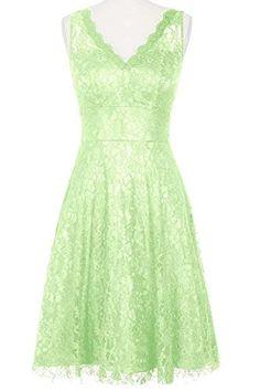 ModernBride Women V-neck Short Lace party Dresses Size US2-26w Size 6 US Sage Modernbride http://www.amazon.com/dp/B00XXRT17K/ref=cm_sw_r_pi_dp_LOFQvb02NRM5M