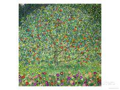 Apple Tree, 1912 Giclee Print by Gustav Klimt at AllPosters.com