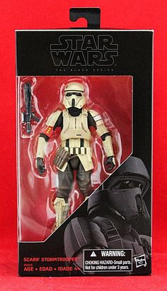 "Scarif Stormtrooper Yellow Fin Rogue One Star Wars Black Series 6"" Figure New #Hasbro"