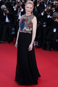 Cannes | Cate Blanchett | Givenchy #redcarpet #gown #givenchy #cateblanchett