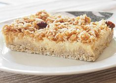 Vločkový koláč s jablky recept - TopRecepty.cz Healthy Cake, Healthy Sweets, Low Carb Recipes, Cooking Recipes, Low Cholesterol Diet, Valspar, Sweet Recipes, Macaroni And Cheese, Sweet Tooth